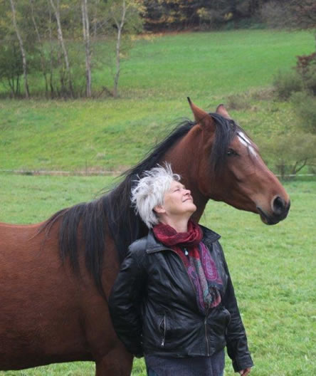 Dörthen Vetter Profilbild mit Pferd